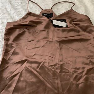 Light brown medium banana republic top